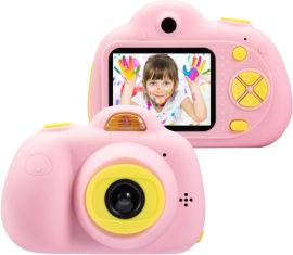 Цифровой детский фотоаппарат UTG-T c дисплеем и играми Розовый (kp2) (4820176241948) от Rozetka