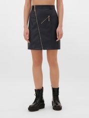 Юбка Fashion Up YUB-1075D M Темно-синяя (2100000271603) от Rozetka