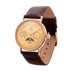 Кварцевые часы из красного золота 000136609 000136609 от Zlato