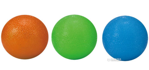 Мячик-тренажер для кисти LiveUp Grip 4.5x6.5 см 3 шт (LS3311) от Rozetka