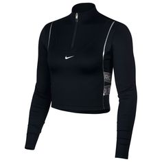 Nike HyperWarm Long Sleeve Top Ladies Black от SportsTerritory