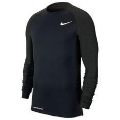 Nike Utility Термо Mock Мужская Футболка Черная от SportsTerritory