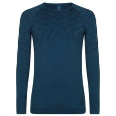 Odlo Kinship Baselayer Top Mens Blue Coral от SportsTerritory