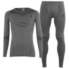 Odlo Performance Set Mens Grey от SportsTerritory