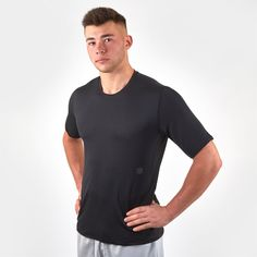 Under Armour RUSH Baselayer Top Mens Black/Black от SportsTerritory