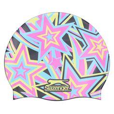 Slazenger С Принтом Шапочка для Плавания Подростковая Разноцветная от SportsTerritory
