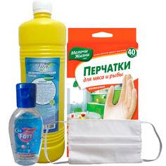 Набор Средства защиты семейный от Podushka
