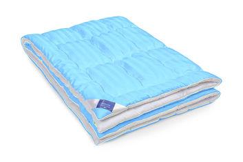 Акция на Детское зимнее антиаллергенное одеяло MirSon 822 Valentino Hand made Eco-Soft сатин + микросатин 110х140 см от Podushka