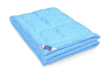 Акция на Детское зимнее антиаллергенное одеяло MirSon 067 Valentino EcoSilk Hand made 110х140 см от Podushka