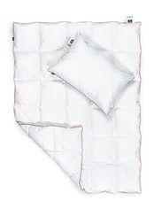 Акция на Набор детский демисезонный MirSon 897 DeLuxe Eco-soft одеяло и подушка демисезонное 110х140 см + подушка 40х60 см от Podushka