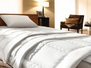Акция на Одеяло детское зимнее MirSon 644 Bianco с эвкалиптом зимнее 110х140 см вес 750 г от Podushka