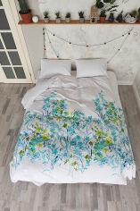 Акция на Комплект постельного белья SoundSleep Botanica ранфорс Двуспальный евро комплект от Podushka