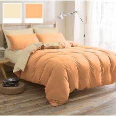 Акция на Комплект постельного белья MirSon бязь Nicoletta 12-0712+13-1027 Двуспальный комплект от Podushka