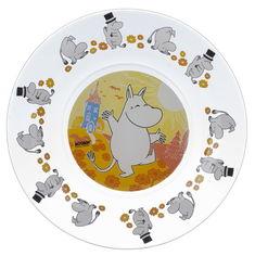Акция на Тарелка детская ОСЗ Муми-тролли 19.6 см 16с1914 4ДЗ Муми-тр от Podushka