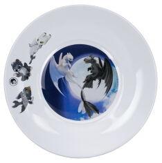 Акция на Тарелка детская ОСЗ Как приручить Дракона 3 19.6 см 16с1914 2ДЗ Драконы от Podushka