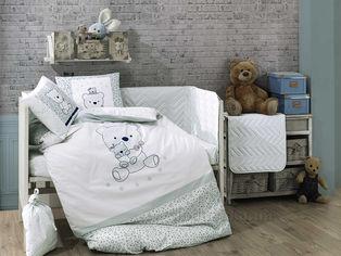 Акция на Детское постельное белье Hobby Bonita мятное Детский комплект от Podushka