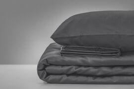 Акция на Детское постельное белье MirSon 0240 Iron grey темно-серое Детский комплект от Podushka
