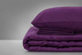 Акция на Детское постельное белье MirSon 3220 Oriana фиолетовое Детский комплект от Podushka