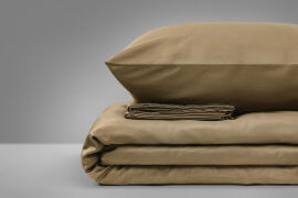 Акция на Детское постельное белье MirSon 0211 Cacao коричневое Детский комплект от Podushka