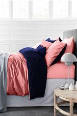 Акция на Детское постельное белье MirSon Delphinium розово - синее Детский комплект от Podushka