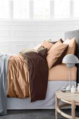 Акция на Детское постельное белье MirSon Cappuccino бежево - коричневое Детский комплект от Podushka