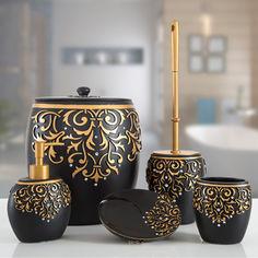 Акция на Набор Irya Flossy siyah черный 5 предметов от Podushka