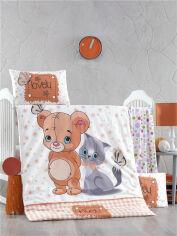 Акция на Комплект детского постельного белья ранфорс LightHouse Mouse and Cat Детский комплект от Podushka