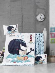 Комплект детского постельного белья ранфорс LightHouse Fisher Детский комплект от Podushka
