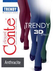 Акция на Колготы серые для женщин Trendy 150 Den Conte anthracite 3 от Podushka