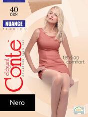 Акция на Колготки черные женские Conte Nuance 40 den Nero 3 от Podushka