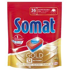 Акция на Таблетки для посудомоечной машины Somat Gold 36х19,2 г 9000101320930 от Podushka
