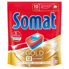 Таблетки для посудомоечной машины Somat Gold 10х19,2 г 9000101320831 от Podushka