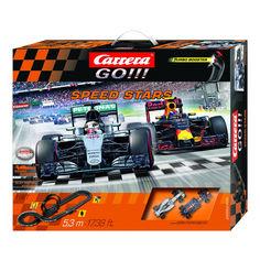 Акция на Автотрек Carrera Go Мастера скорости длина трассы 5.3м CR-20062425 от Podushka