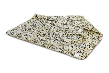 Акция на Одеяло детское демисезонное шерстяное MirSon 017 Standard 110х140 см вес 350 г от Podushka