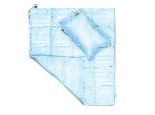 Акция на Набор детский демисезонный MirSon 860 Valentino Тенсель (Modal) одеяло и подушка демисезонное 110х140 см + подушка 40х60 см от Podushka