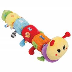 Акция на Развивающая игрушка Гусеница Мари Happy Snail ET14HS09IG от Podushka