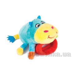 Игрушка-погремушка Бегемотик Бубба Happy Snail ET14HSB03BU от Podushka
