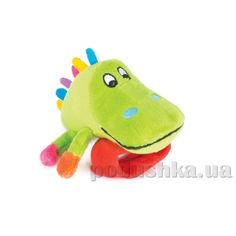 Игрушка-погремушка Крокодил Кроко Happy Snail ET14HSB04CR от Podushka