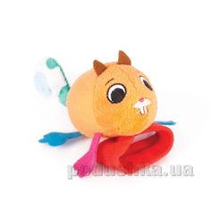 Игрушка-погремушка Бельчонок Хруми Happy Snail ET14HSB02HR от Podushka