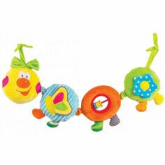 Акция на Подвеска Happy Snail Веселая гусеничка Камилла ET14HS003PG от Podushka