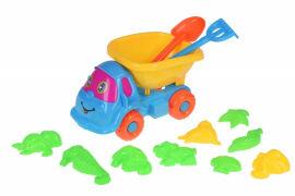 Набор для игры в песочнице Same Toy 11ед голубой/желтый B011-C1 от Podushka