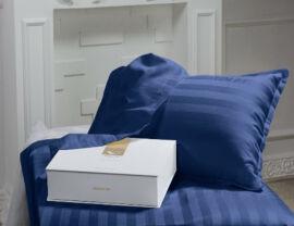 Акция на Постельное белье в кроватку MirSon Blue sea Детский комплект от Podushka