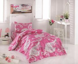 Постельное белье Lighthouse бязь-голд Pink Двуспальный евро комплект от Podushka