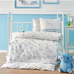 Постельное белье в кроватку Karaca Woof Детский комплект от Podushka