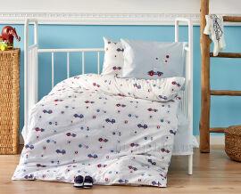 Постельное белье в кроватку Karaca My car Детский комплект от Podushka