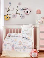 Детское постельное белье в кроватку Karaca Happy Детский комплект от Podushka