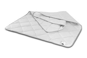 Акция на Детское демисезонное антиаллергенное одеяло MirSon EcoSilk Royal Pearl 012 110х140 см от Podushka