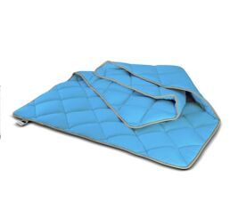 Акция на Одеяло антиаллергенное MirSon EcoSilk Premium Valentino 013 зима 200х220 см от Podushka
