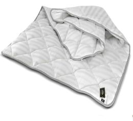 Акция на Одеяло антиаллергенное MirSon Thinsulate Royal Pearl 085 зима 172х205 см от Podushka