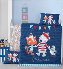 Акция на Детское постельное белье Victoria Winter Детский комплект от Podushka